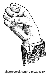 Normal Aperture Back Primary High Vowel positions are distinguished by always having the voice phalanx of the thumb accented and in contact with the terminal phalanx of the accented finger, vintage