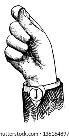 Normal Aperture Back Primary Low Vowel positions are distinguished by always having the voice phalanx of the thumb accented and in contact with the terminal phalanx of the accented finger, vintage