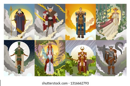 norse germanic gods mythology
