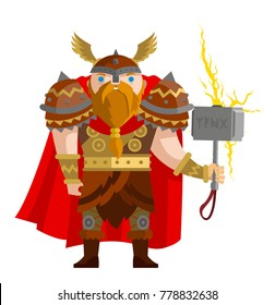 norse mythology thor god of the ray