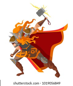 norse mythology thor god of thunder