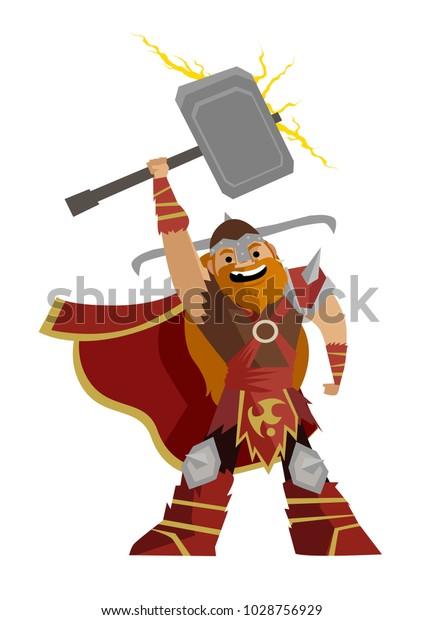 norse mythology thor god of thunders