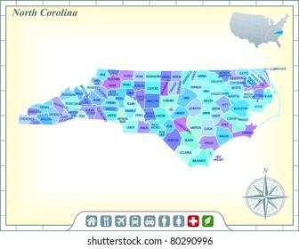 11,065 North carolina North Carolina Map Images | Royalty Free Stock ...