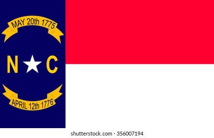 North Carolina (USA) flag