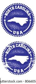 North Carolina USA Stamps