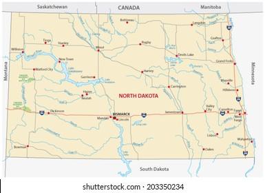 North Dakota Highway Images, Stock Photos & Vectors ...