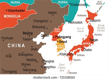 China Japan Map Images, Stock Photos & Vectors | Shutterstock on map of united states, map of lithuania, map of romania, map of the pacific ocean, map of india, map of philippines, map of asia, map of europe, map of bermuda, map of jeju island, map of slovakia, map of new zealand, map of el salvador, map of korean war, map of israel, map of korean peninsula, map of middle east, map of guam, map of seoul, map of vietnam,