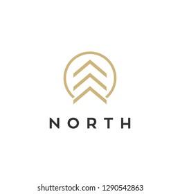 north logo design