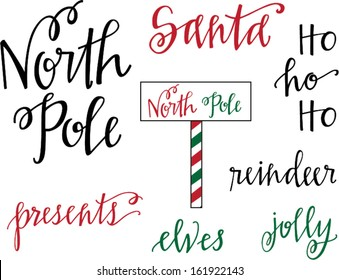 North Pole Christmas Set