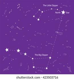 north star big little dipper 260nw 423503716 little dipper images, stock photos & vectors shutterstock