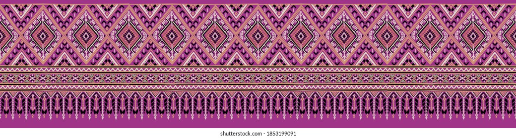 Northeast Thai Fabric Silk Pattern
