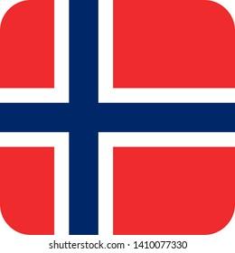 norway flag europe illustration vector eps