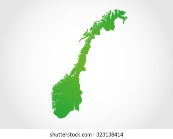 Norway Map Territory