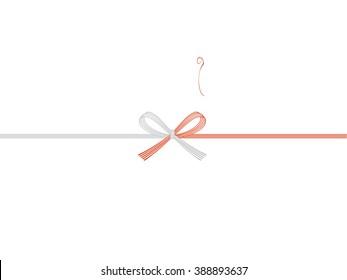 noshi paper : japanese envelope decoration