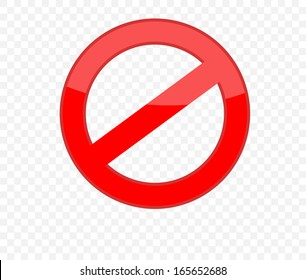 Not Allowed Sign