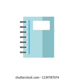 note book - stationery icon vector