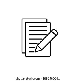 Note icon vector. notepad icon vector