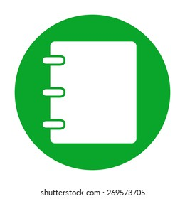 Notebook, address, phone book icon