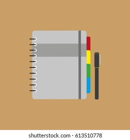 Notebook icon.