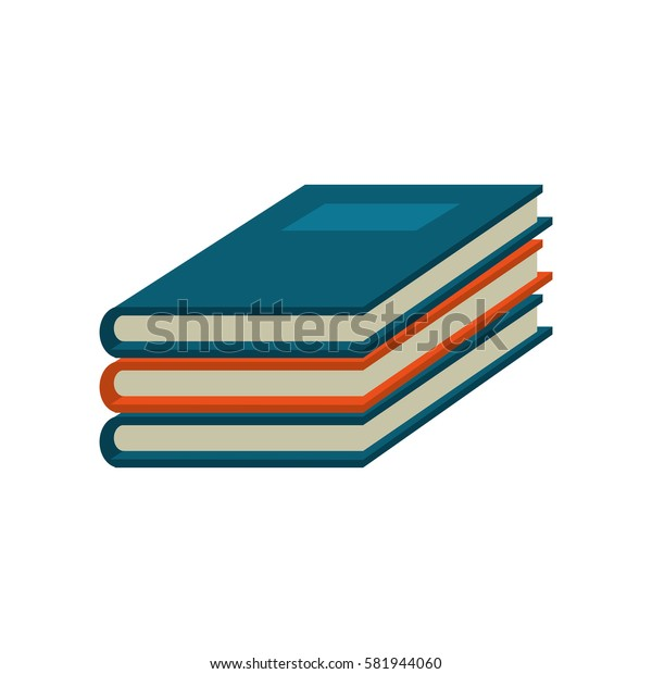 notebook study educational icon