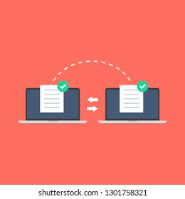 Notebooks file transfer. Data transmission, ftp files receiver and notebook computer backup copy. Document pc migration, network laptop file sharing.