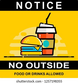 notice, no outside