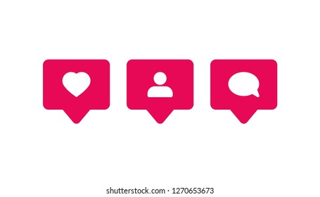 notification icon vector, on white background editable eps10