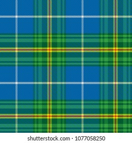nova scotia tartan geometric seamless pattern