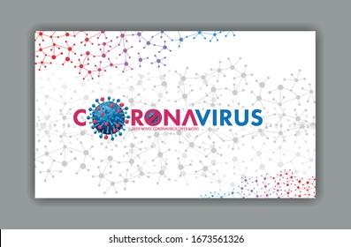 Corona Virus 2019 Konzept. Verantwortlich für den Ausbruch der asiatischen Grippe und die Koronviren Influenza als gefährliche Grippeviruserkrankungen als Pandemie.