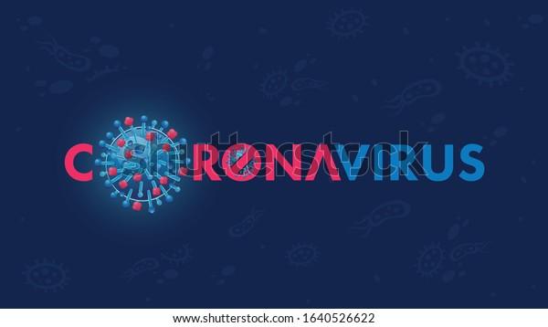 Novel coronavirus (2019-nCoV). Wuhan virus disease,  virus infections prevention methods infographics. Logo, symbol & Background.