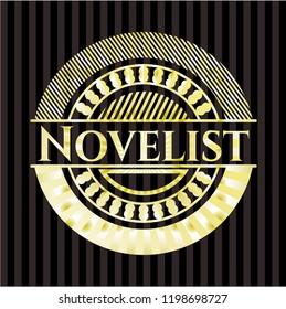 Novelist gold emblem
