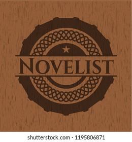 Novelist realistic wood emblem