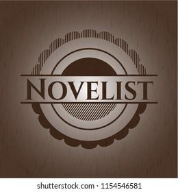 Novelist wooden emblem
