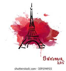 November 13, 2015. Pray for France