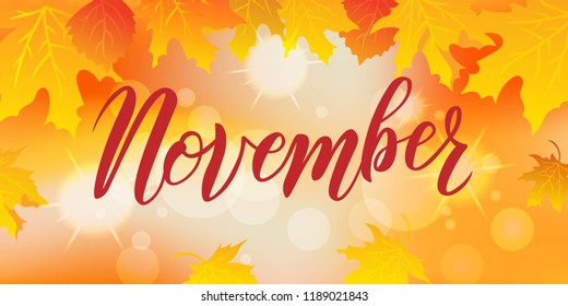 Image result for november""