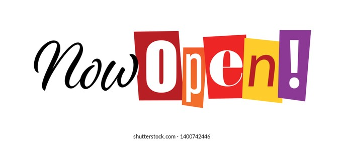 Now open / cut out letters