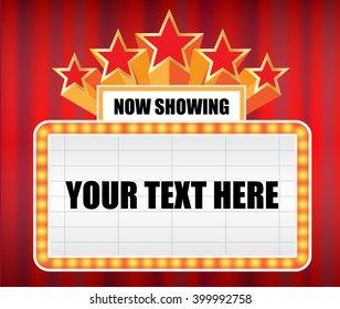 Movie Marquee Images Stock Photos Amp Vectors Shutterstock