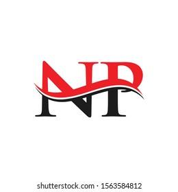 NP Letter Linked Logo. NP Letter Modern Business Logo Vector template.