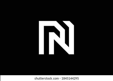 NP letter logo design on luxury background. PN monogram initials letter logo concept. NP icon design. PN elegant and Professional letter icon design on black background. N P PN NP
