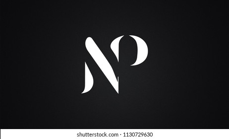 NP Letter  logo Design Template Vector
