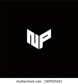 NP Logo Letter ininial Designs Templete