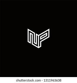 NP Logo Letter initial Designs Templete