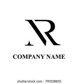 Nr initial logo design