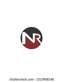 NR Letter Logo Icon 001