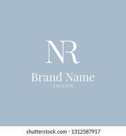 NR logo elegance skyblue