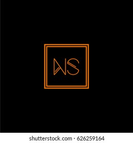 ns logo letter initial, Abstract Polygonal Background Logo, design for Corporate Business Identity,flat icon, Alphabet letter