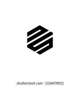 NS LOGO VECTOR ICON DOWNLOAD TEMPLATE