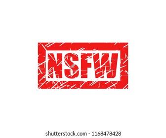 Nsfw red stamp