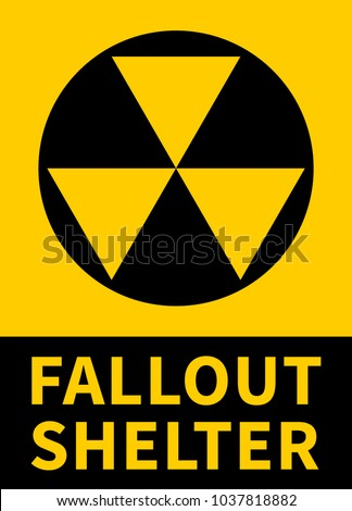 Nuclear fallout shelter flat