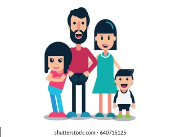 Nuclear Family - Home background